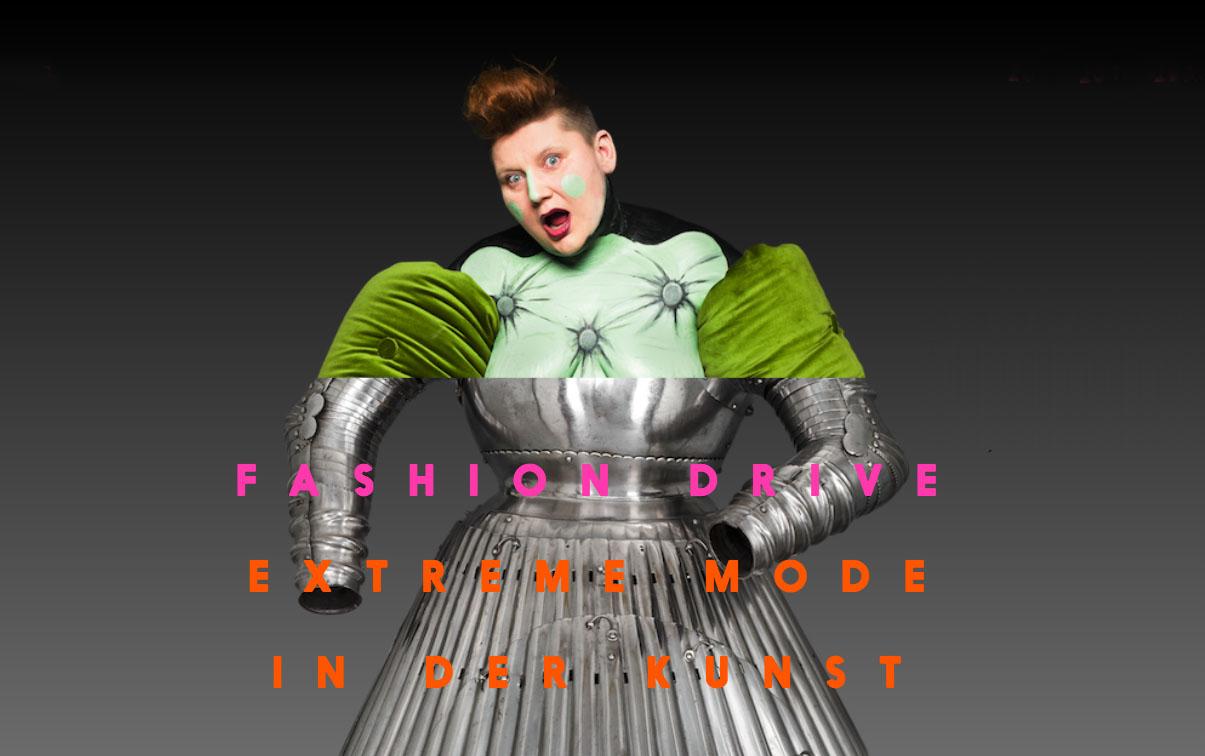 Fashion Drive. Vêtements extrêmes dans l'art