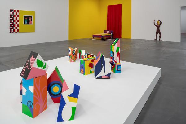 Teresa Burga: «Aleatory Structures»