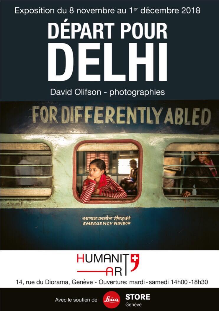 Départ pour Delhi - David Olifson