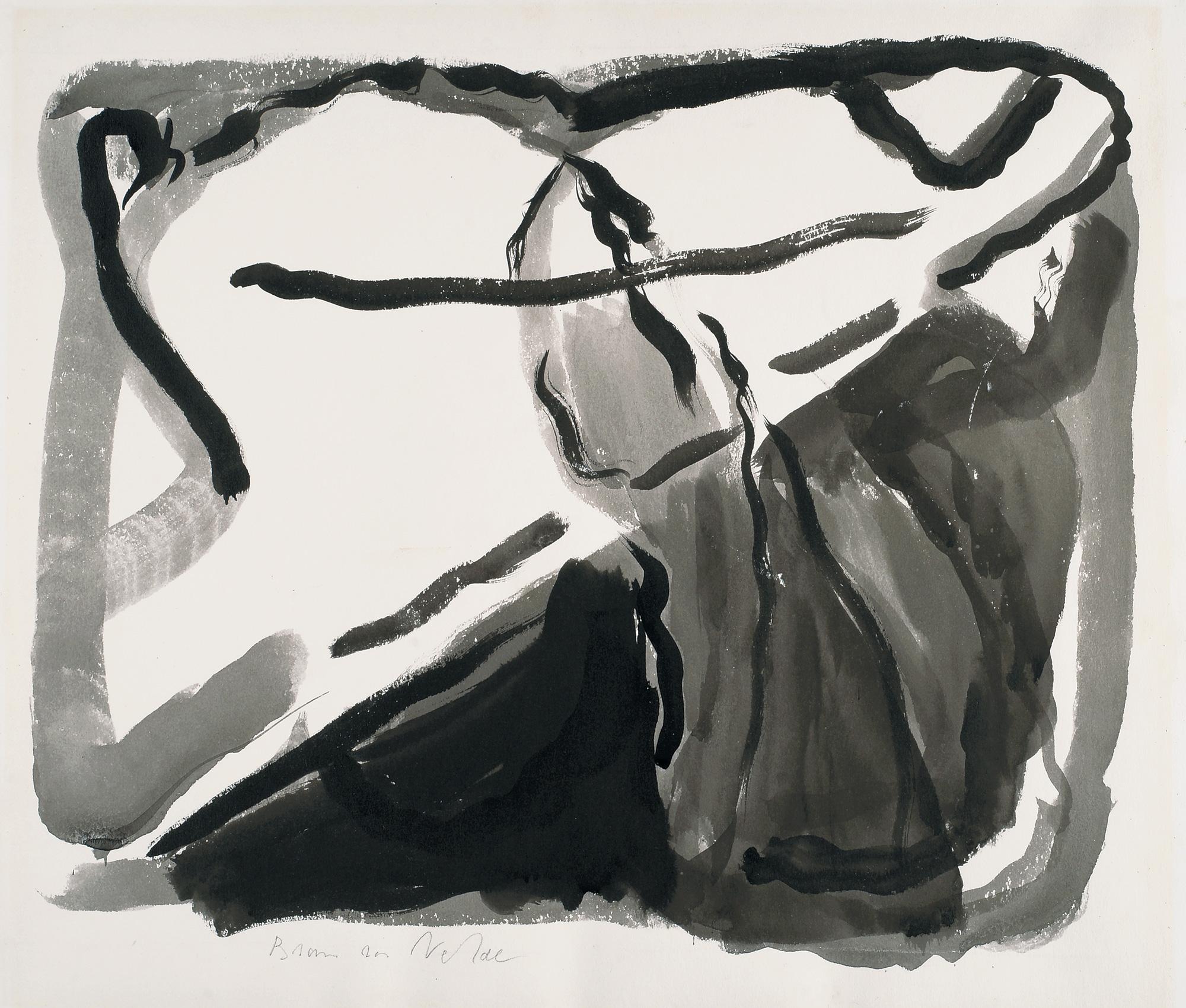 Peintures et œuvres sur papier des années 1950-1960