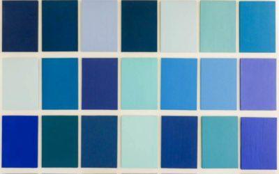 50 nuances de bleu