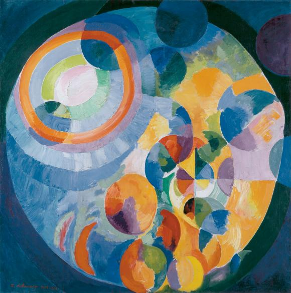 Robert Delaunay et Paris
