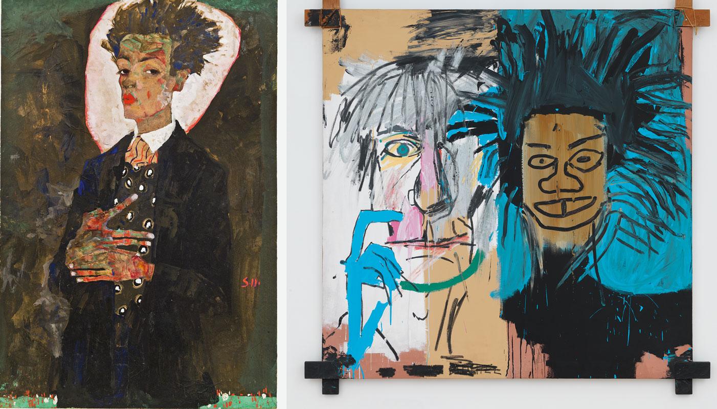 Jean-Michel Basquiat / Egon Schiele