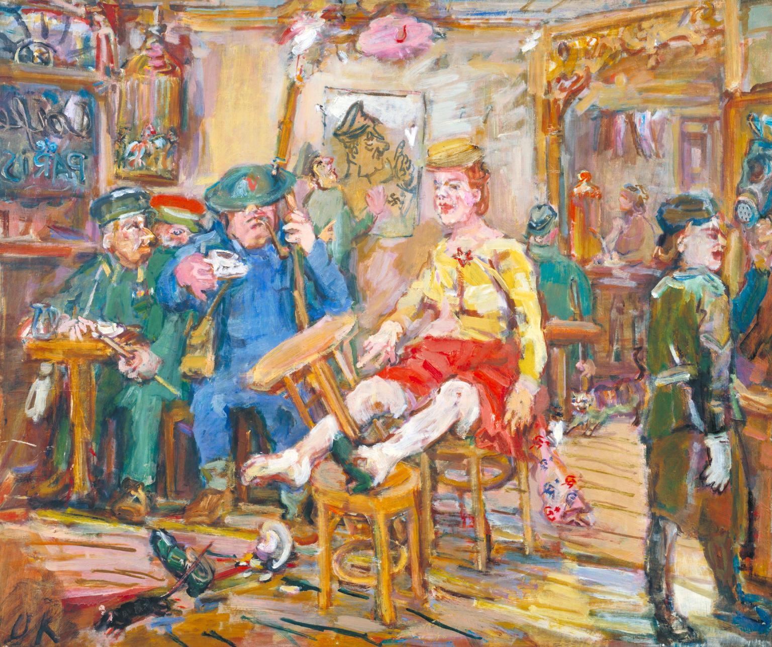 Oskar Kokoschka. Une rétrospective