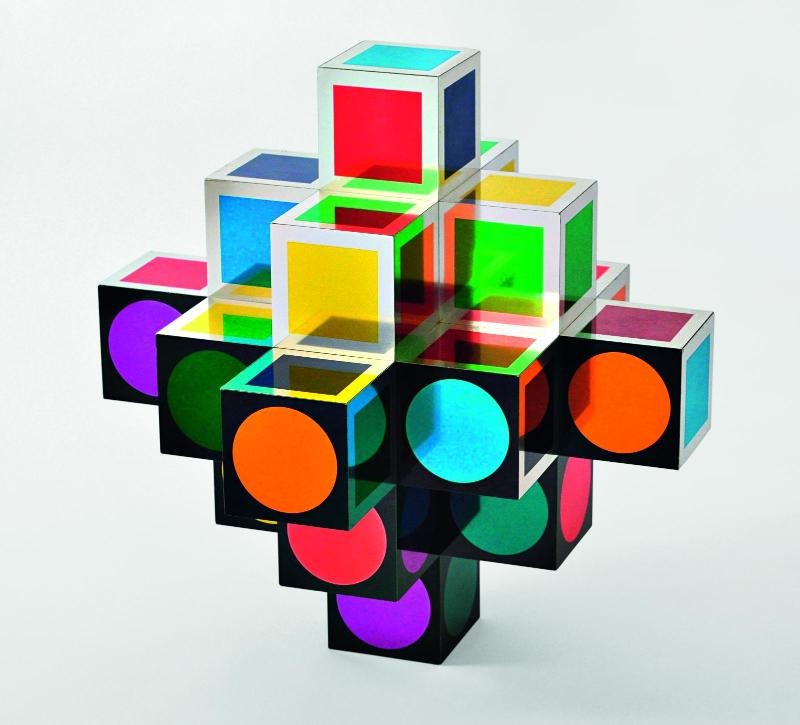 Vasarely – Le partage des formes