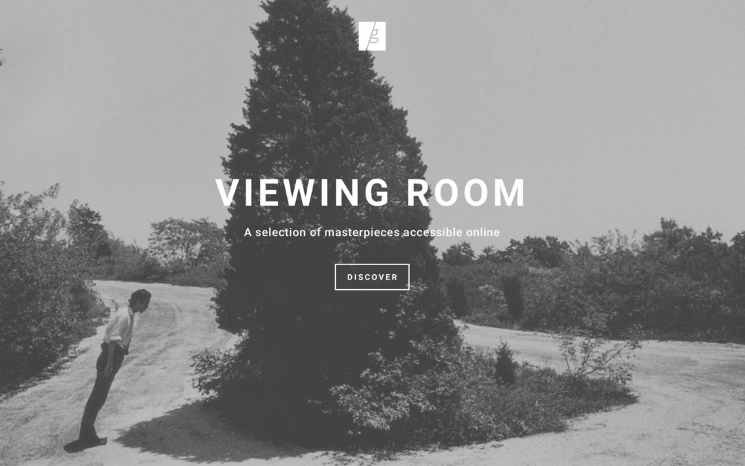 Galerie Thierry Bigaignon: Viewing Rooms