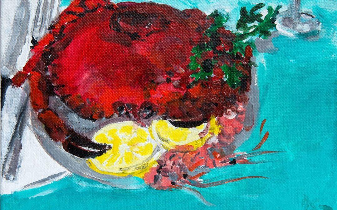 Isabelle Favre, gravure, dessin – Daniel Salzmann, peinture, dessin