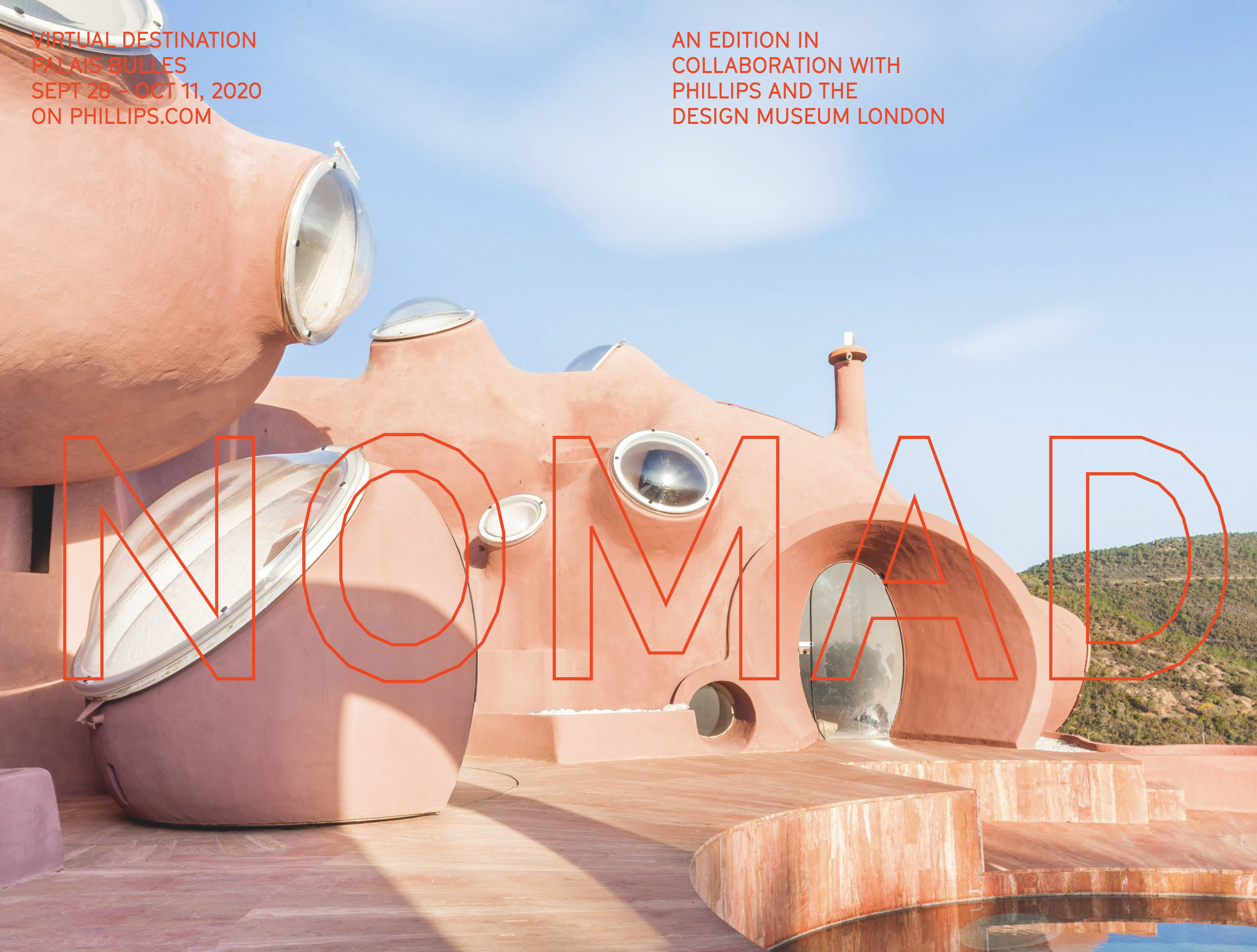 Nomad Virtual Destination Palais Bulles