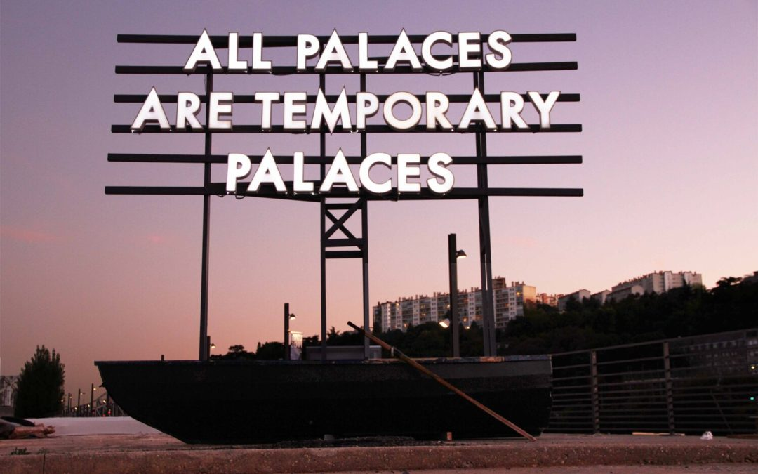 Robert Montgomery & Analix Forever @ GALERISTES 2020