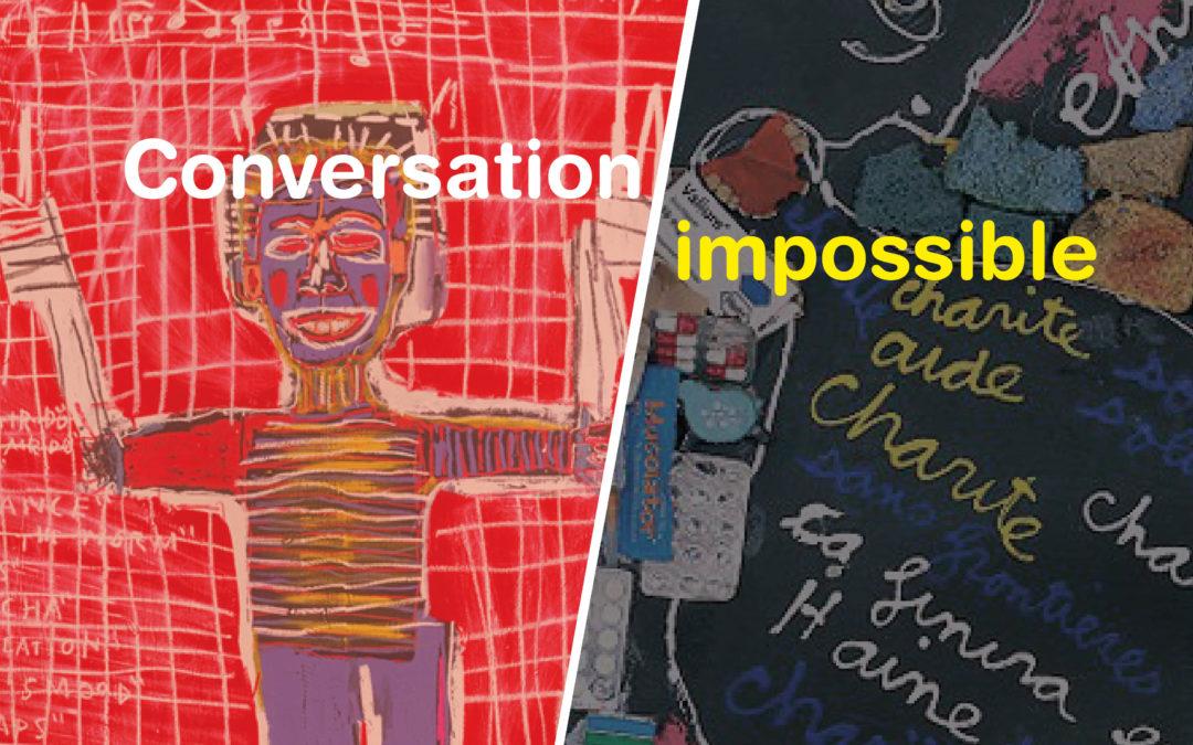 Conversation impossible: Ben & Basquiat