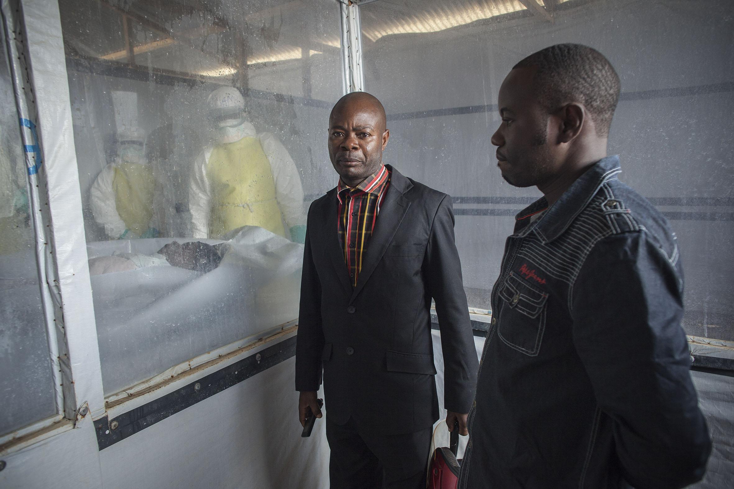 Ebola par temps de guerre